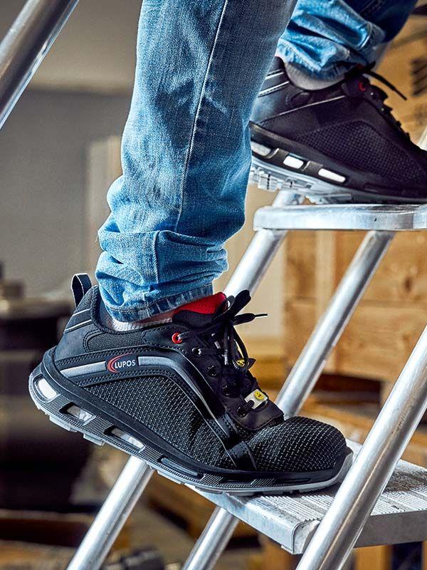 San Francisco 624fd 02c14 Chaussures de sécurité LUPOS®, ENTICS, légères et super ...